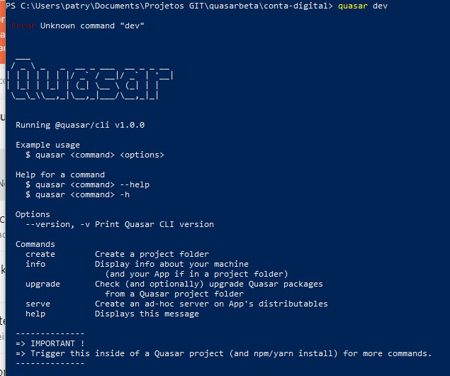 Posts made by patryckx | Quasar Framework Community